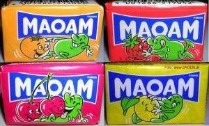 Maoam packaging shows sex positions?