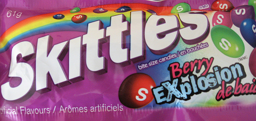 "Skittles packaging subliminally suggests ""sex"""