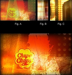 Example of a use of subliminal video in advertising with a chupa chups flashed logo